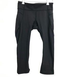 Lululemon Cropped Capri Black Leggings Size 4